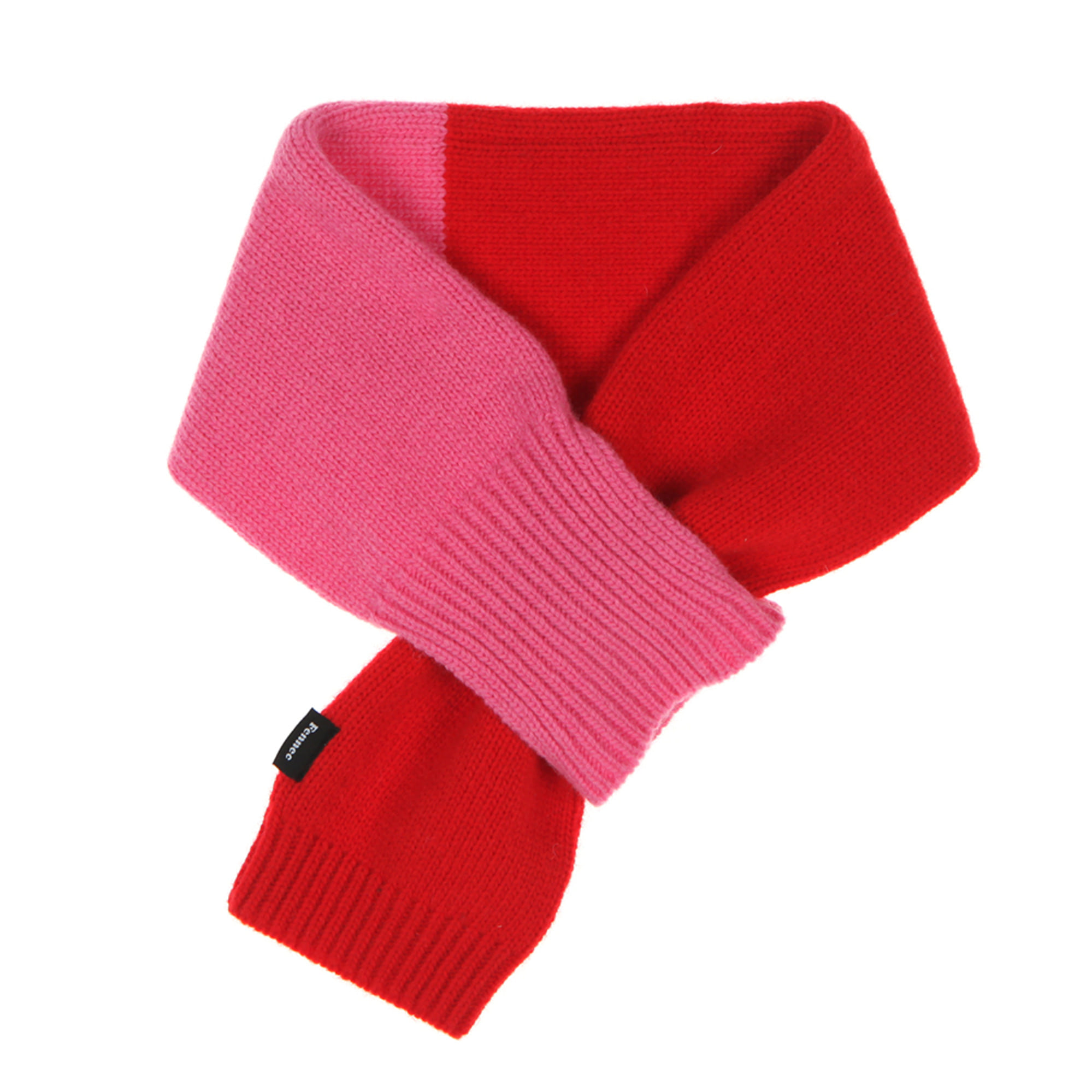 KNIT TIMI MUFFLER - RED