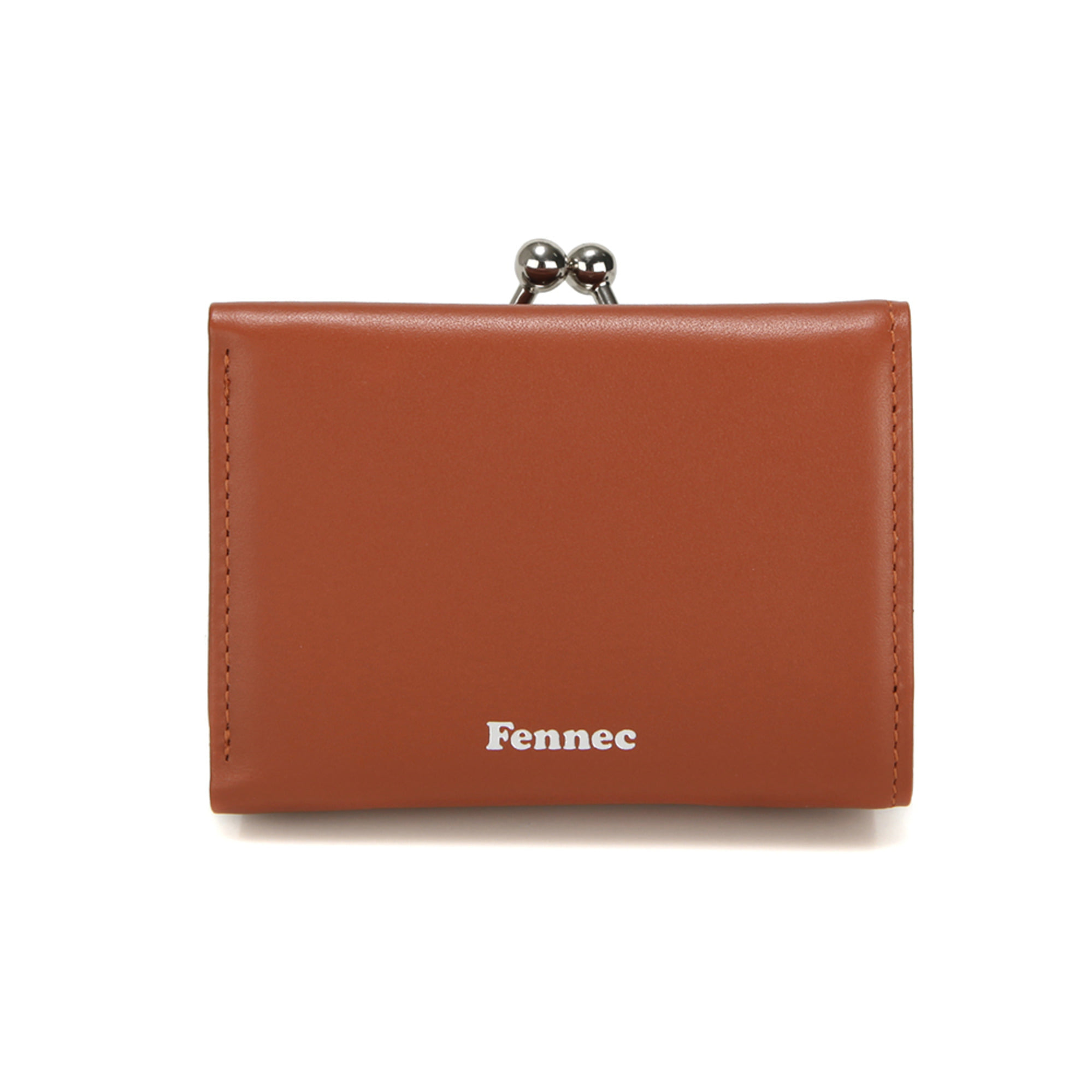(SCRATCH SALE) FRAME TRIPLE WALLET - AMBER