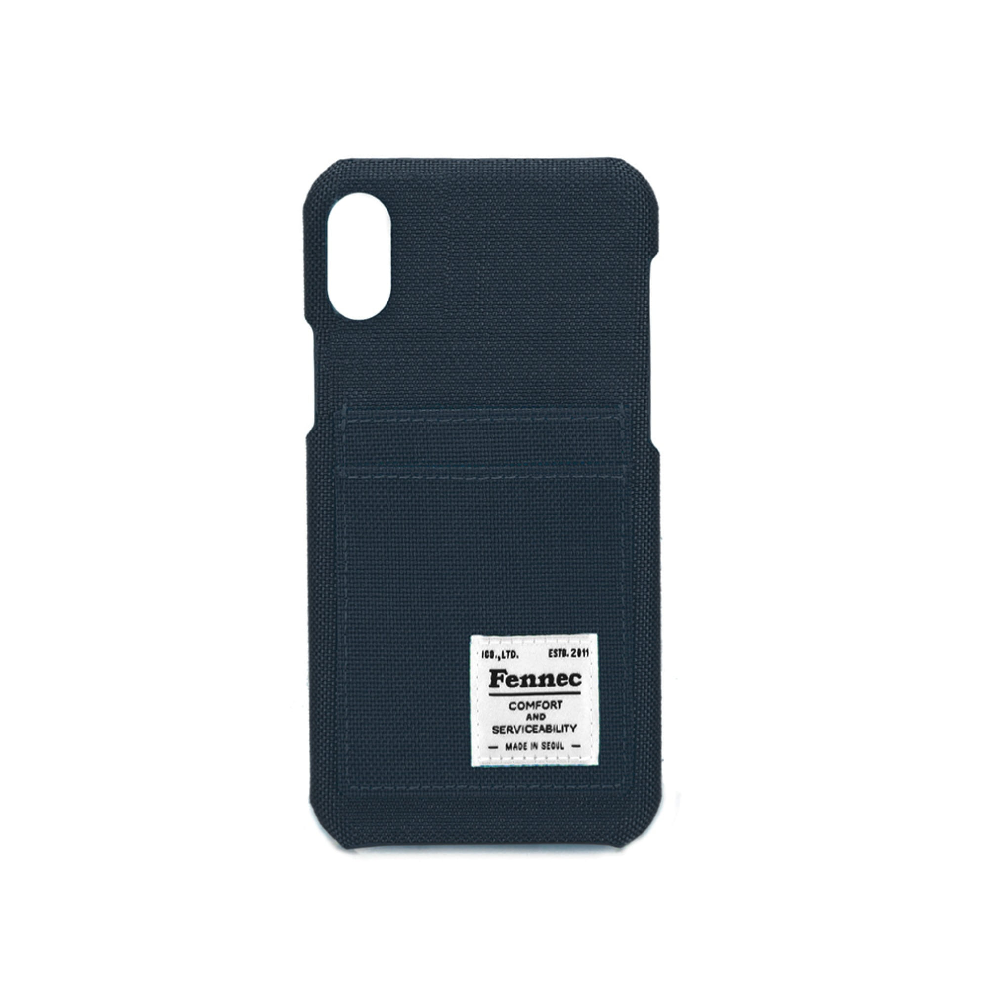 [DISCONTINUE] C&S iPHONE XR CARD CASE - NAVY
