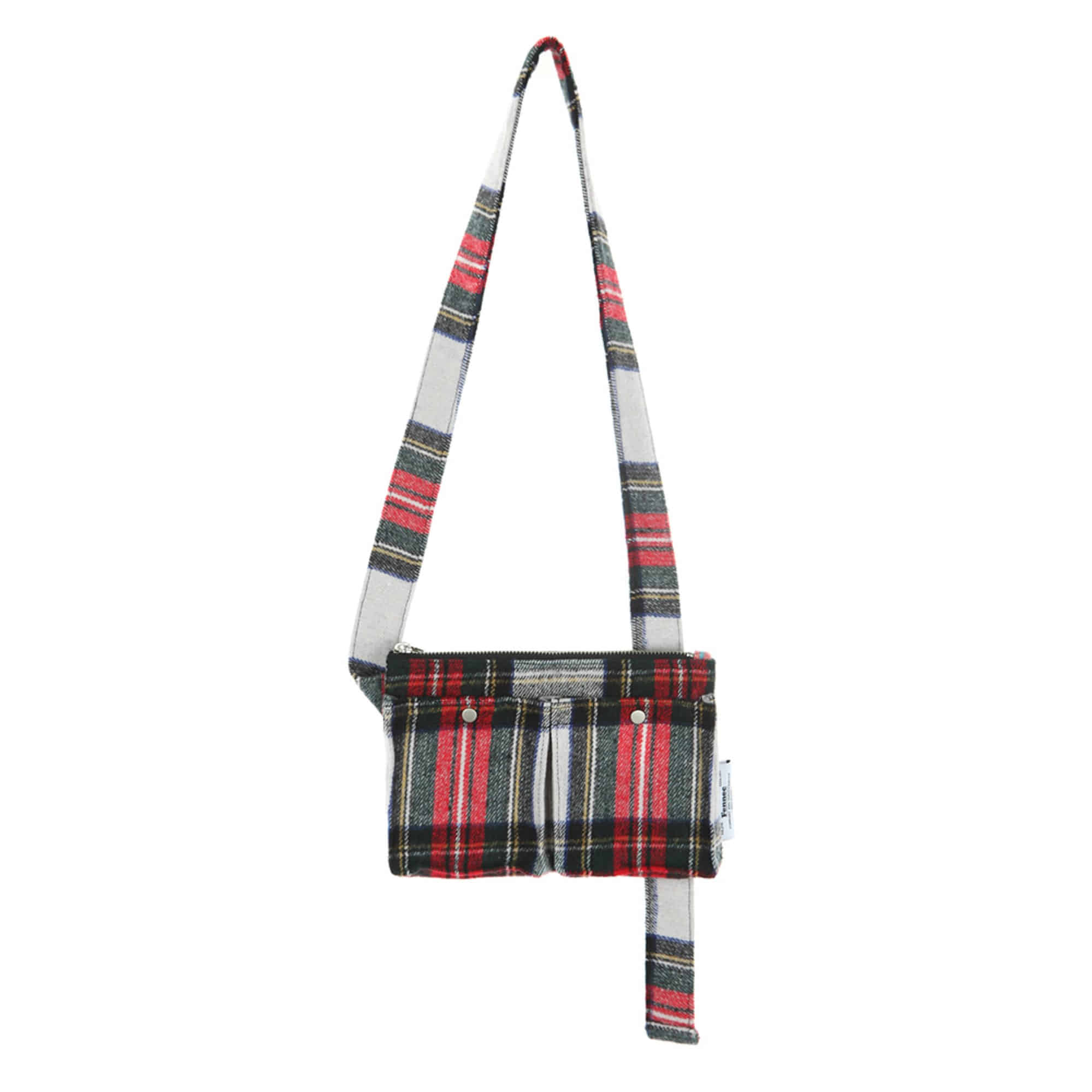 [DISCONTINUE] C&S CHECK BODY BAG - RED