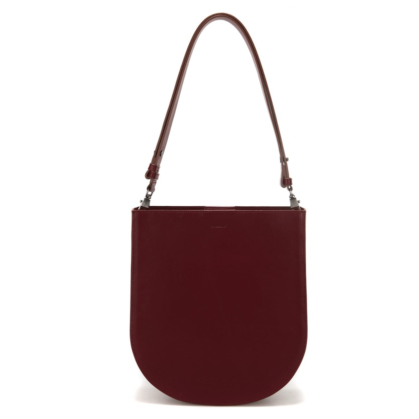 [DISCONTINUE] HALFMOON HOBO BAG - WINE