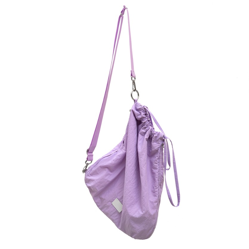 FABRIC SLING BAG - LAVENDER