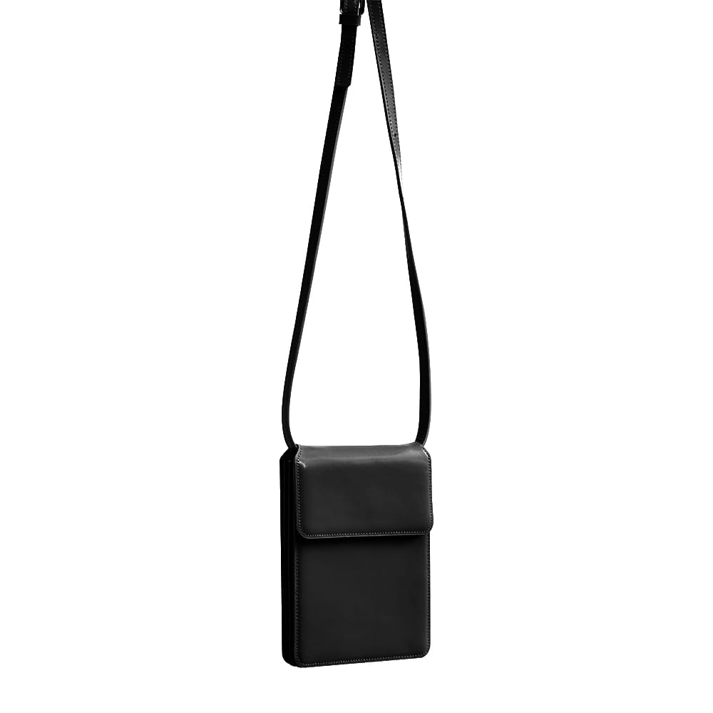 [DISCONTINUE] ACCORDION BAG - BLACK