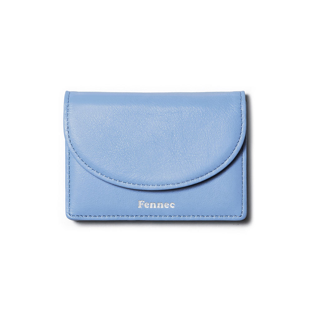 [21SS] HALFMOON ACCORDION POCKET - SKY BLUE