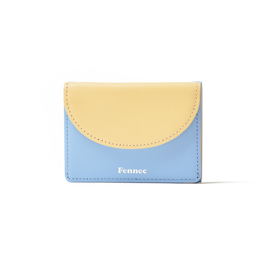 [10주년 에디션] HALFMOON MINI WALLET COMBI - SKY BLUE