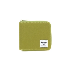 (SCRATCH SALE) C&S ZIPPER WALLET - OLIVE