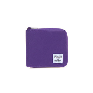 (SCRATCH SALE) C&S ZIPPER WALLET - PURPLE