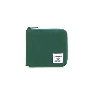 (SCRATCH SALE) C&S ZIPPER WALLET - GREEN