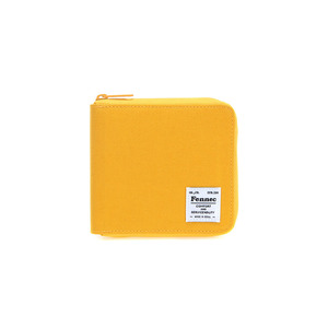 (SCRATCH SALE) C&S ZIPPER WALLET - YELLOW