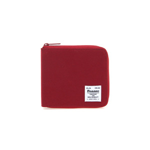 (SCRATCH SALE) C&S ZIPPER WALLET - SMOKE RED