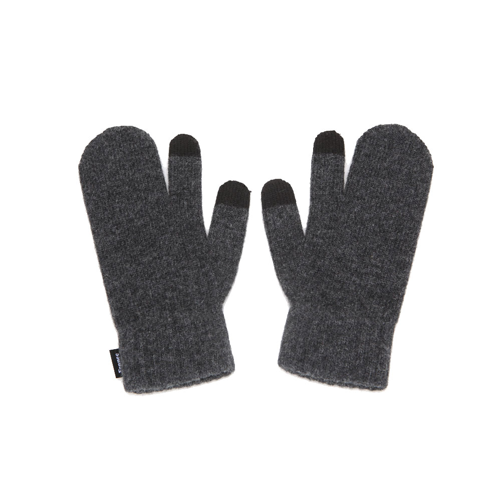 KNIT TIMI GLOVES_ver.3 - CHARCOAL