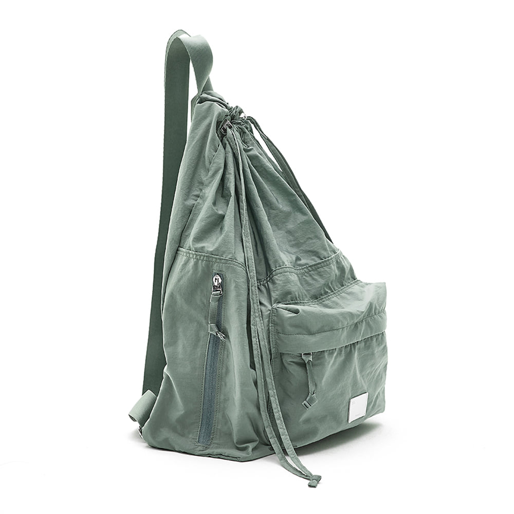 [21SS] DRAWSTRING BACKPACK - MINT