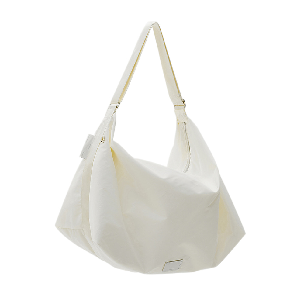 [4/19 예약배송][21SS] FABRIC HOBO BAG - WHITE