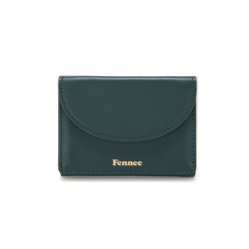 [10/19 예약배송]HALFMOON MINI WALLET - MOSS GREEN