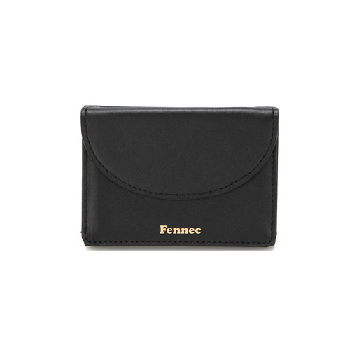 [10/19 예약배송]HALFMOON MINI WALLET - BLACK